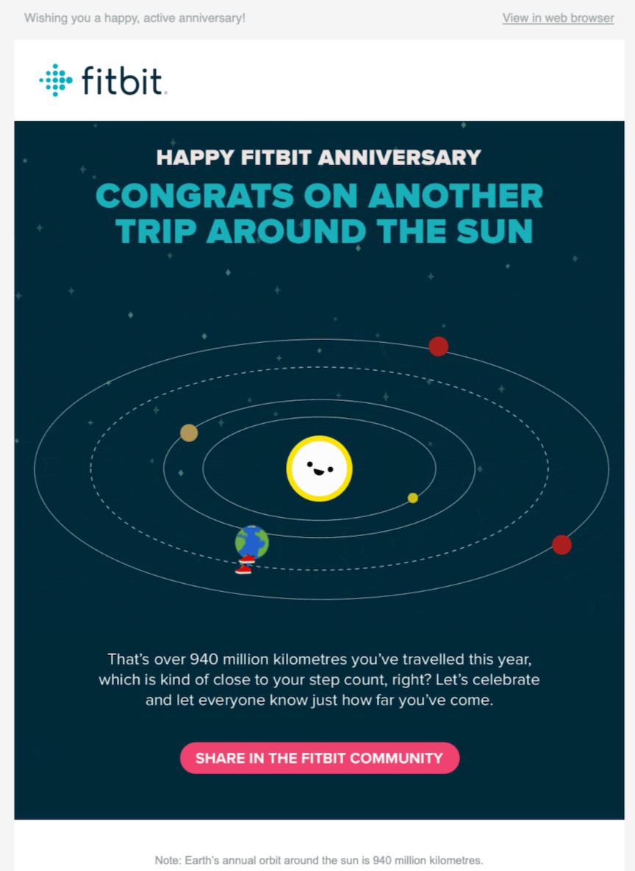 1 - Fitbit Anniversary