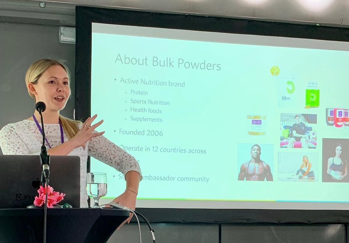Amy Smith Bulk Powders presentation