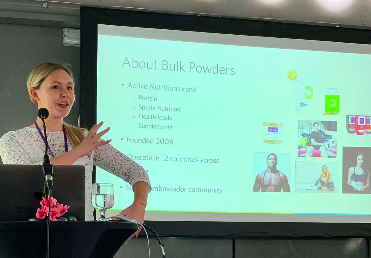 Amy Smith Bulk Powders presentation