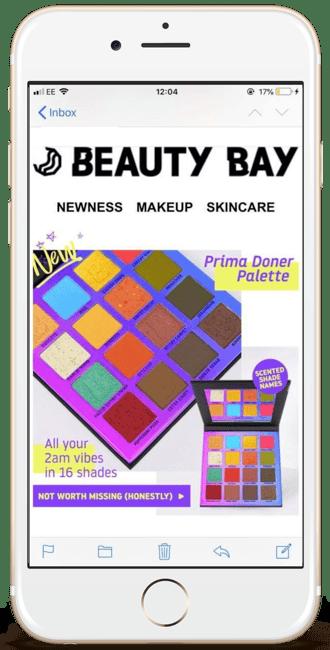 Beauty Bay April Fools email