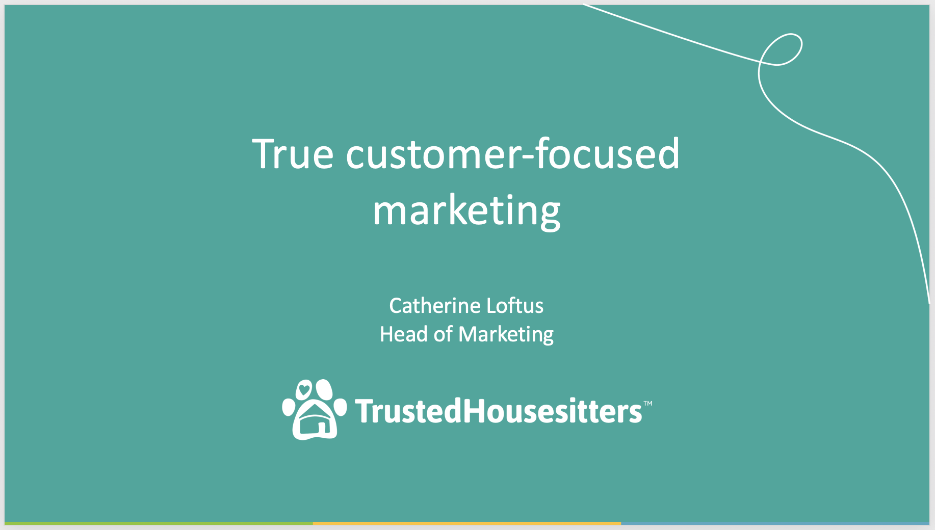 Catherine Loftus Trusted Housesitters presentation