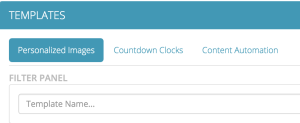 Personalized images Countdown Clocks Content Automation