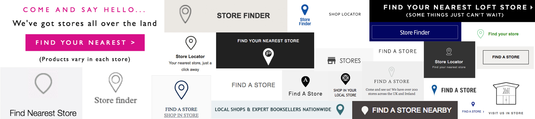 Nearest stores