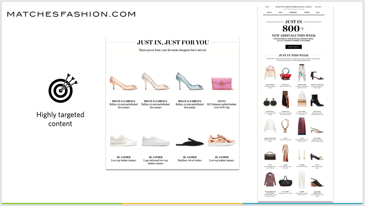 MatchesFashion.com email